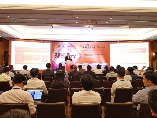 Hội thảo an toàn, an ninh thông tin trên không gian mạng- VietNam Cyber Security 2018