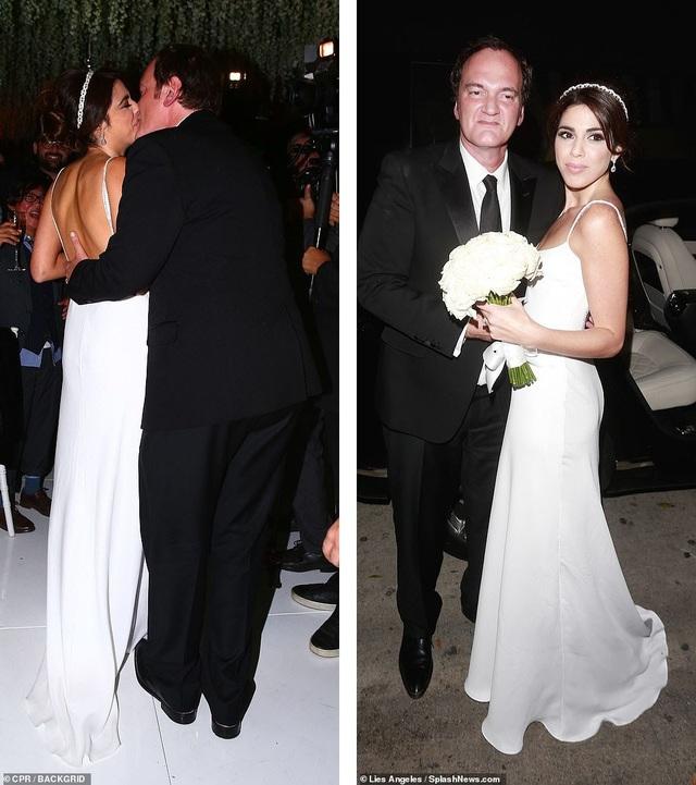 Đạo diễn quái kiệt Quentin Tarantino cưới vợ lần đầu ở tuổi 55 - 8