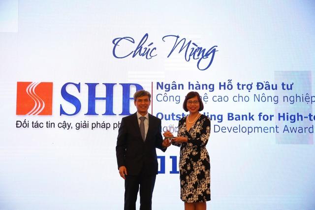 SHB được vinh danh là ngân hàng hỗ trợ đầu tư công nghệ cao cho nông nghiệp sạch - 1