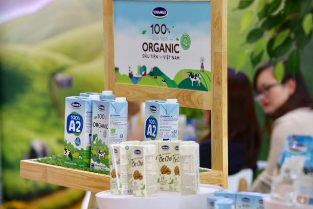 Hình ảnh sản phẩm sữa Vinamilk thân thuộc với nhiều người tiêu dùng