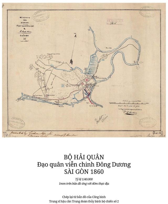 Sự thay đổi của TPHCM trong 320 năm qua những tấm bản đồ cổ - 2