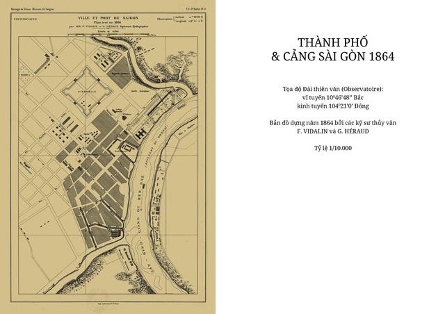 Sự thay đổi của TPHCM trong 320 năm qua những tấm bản đồ cổ - 3