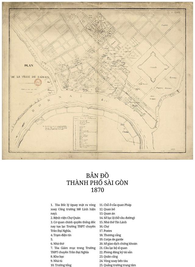 Sự thay đổi của TPHCM trong 320 năm qua những tấm bản đồ cổ - 4