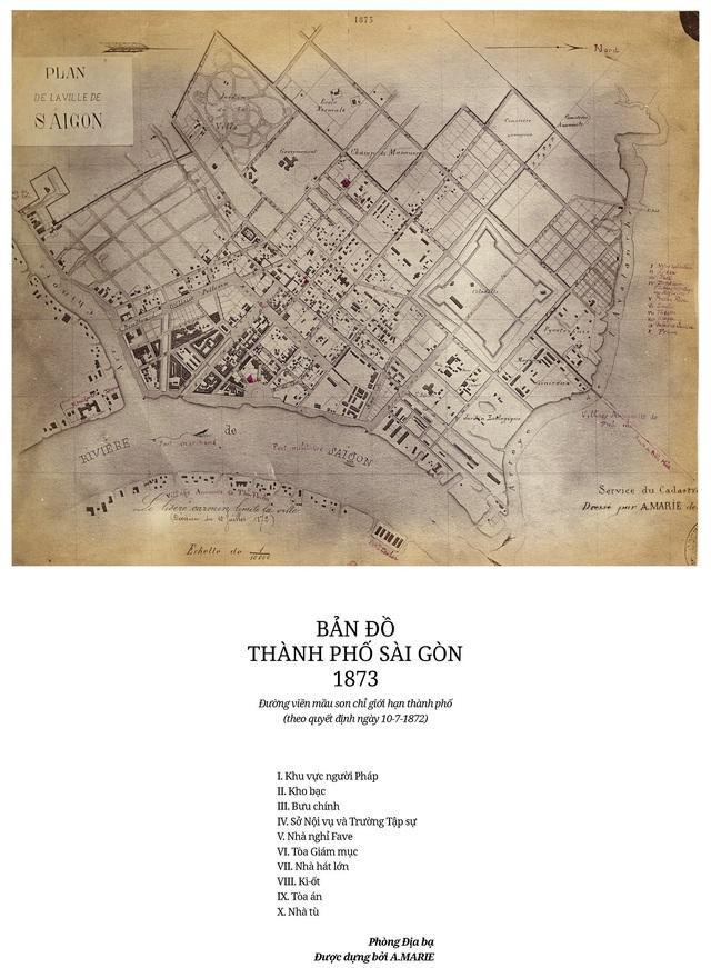 Sự thay đổi của TPHCM trong 320 năm qua những tấm bản đồ cổ - 5