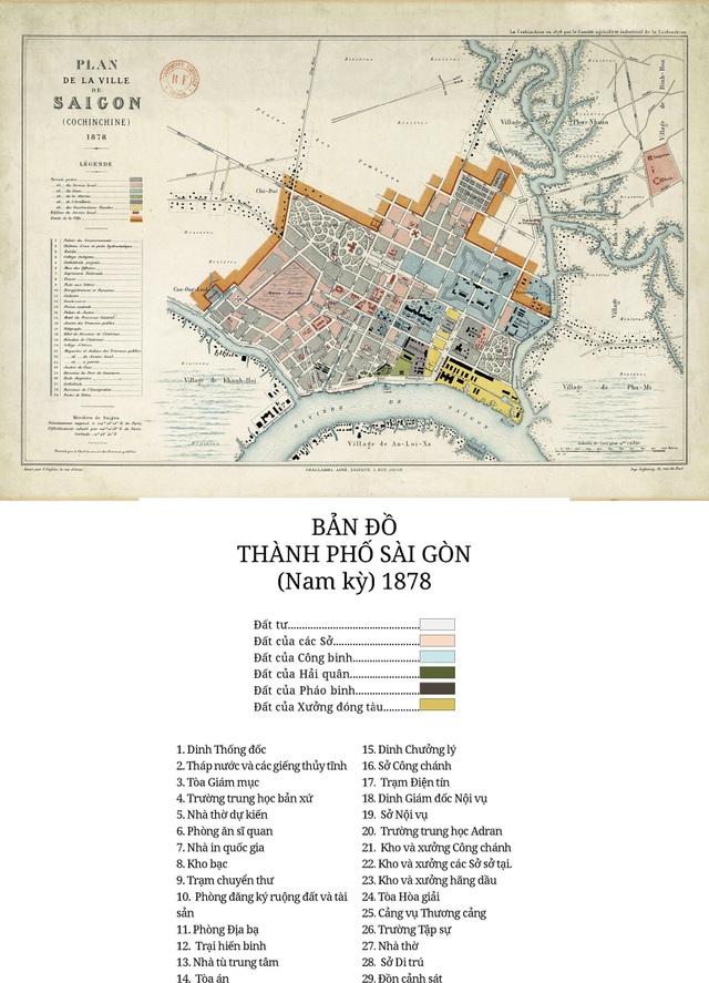 Sự thay đổi của TPHCM trong 320 năm qua những tấm bản đồ cổ - 6