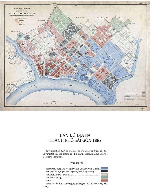 Sự thay đổi của TPHCM trong 320 năm qua những tấm bản đồ cổ - 8