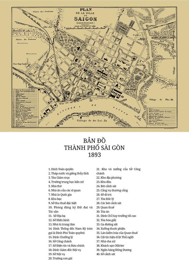 Sự thay đổi của TPHCM trong 320 năm qua những tấm bản đồ cổ - 9