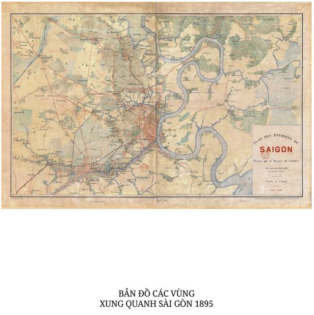 Sự thay đổi của TPHCM trong 320 năm qua những tấm bản đồ cổ - 10