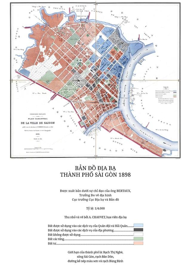 Sự thay đổi của TPHCM trong 320 năm qua những tấm bản đồ cổ - 11