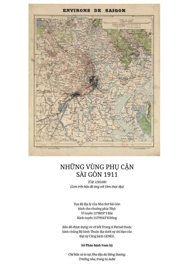 Sự thay đổi của TPHCM trong 320 năm qua những tấm bản đồ cổ - 12