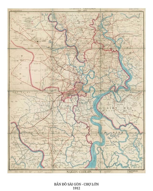 Sự thay đổi của TPHCM trong 320 năm qua những tấm bản đồ cổ - 13