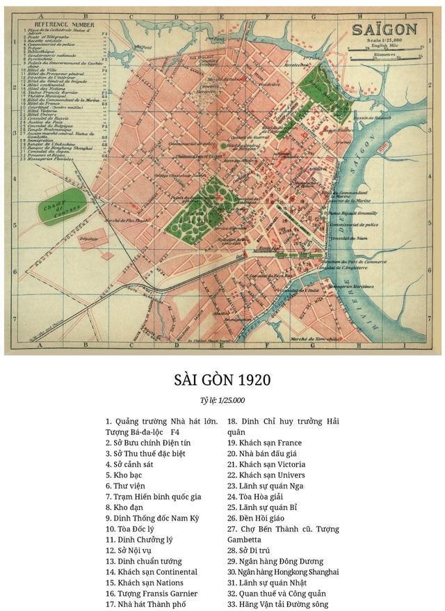 Sự thay đổi của TPHCM trong 320 năm qua những tấm bản đồ cổ - 14