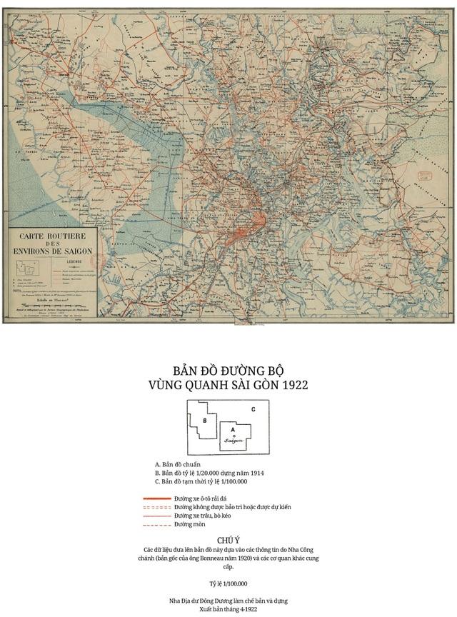 Sự thay đổi của TPHCM trong 320 năm qua những tấm bản đồ cổ - 15