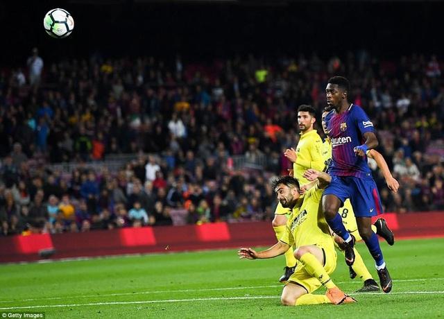 Dembele luôn ghi được những bàn thắng quan trọng cho Barcelona