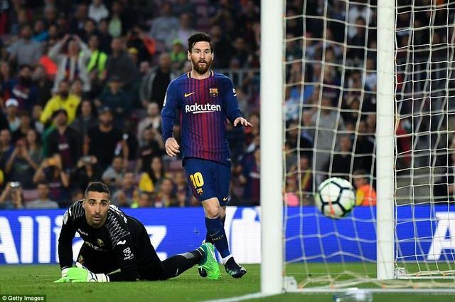Messi luôn có duyên ghi bàn khi đối đầu Villarreal