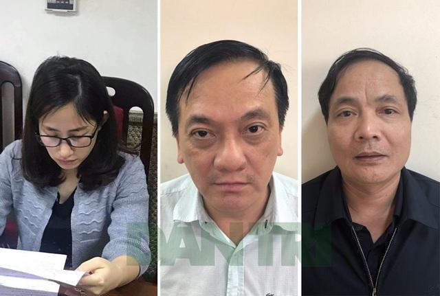 Các bị cáo Lê Thị Vân Anh, Trần Lục Lang, Kiều Đình Hòa
