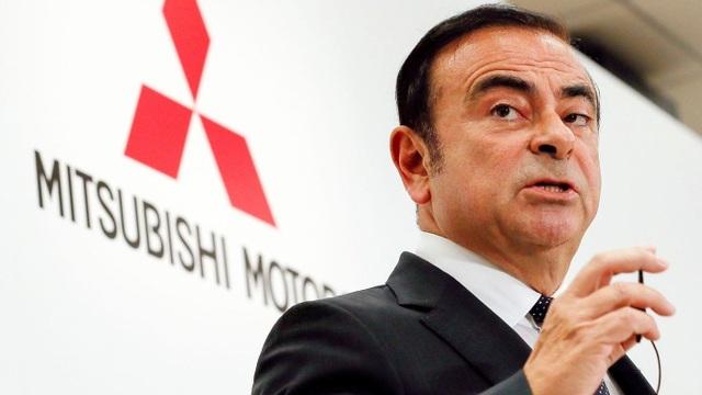 Ông Carlos Ghosn lần lượt bị Nissan, Mitsubishi Motors miễn nhiệm chức Chủ tịch. (Nguồn: Los Angeles Times)