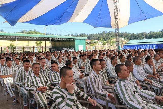 Các phạm nhân trẻ tham gia chương trình Khát vọng ngày trở về