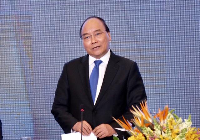 Thủ tướng Nguyễn Xuân Phúc phát biểu tại Diễn đàn Thanh niên khởi nghiệp 2018 vừa diễn ra tại Đà Nẵng chiều 29/11