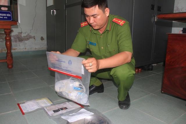Cơ quan Cảnh sát điều tra Công an thành phố Phan Rang - Tháp Chàm đã niêm phong các tang vật có liên quan đến việc nạo phá thai gây tai biến tại nhà bà Lâm