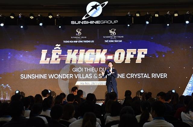 Bùng nổ sự kiện Sunshine Group đào tạo Sales tại 2 dự án siêu sang ở Hà Nội - 1