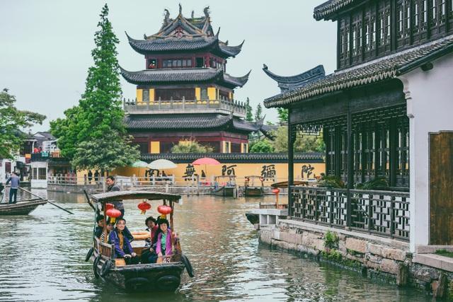 """Chu Gia Giác – cố trấn tuyệt đẹp trong hành trình """"Bay thẳng Ninh Ba – thả ga đón Tết"""""""