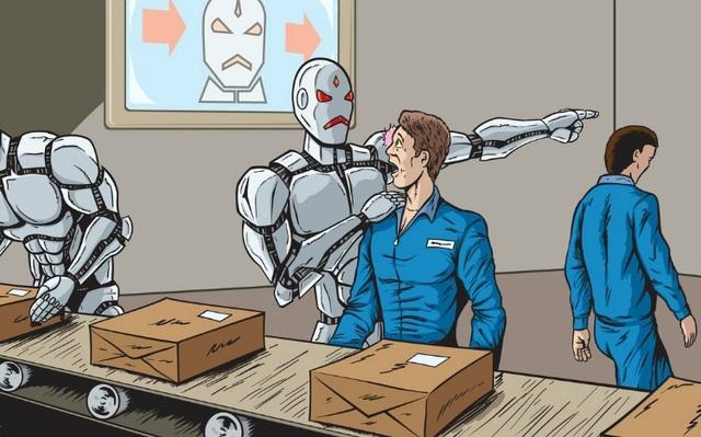 Không thể phủ nhận, lo lắng robot và AI có thể lấy đi một số công việc của con người là hoàn toàn có cơ sở