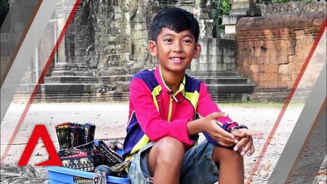 Cậu bé Thuch Salik (Ảnh: Channel News Asia)