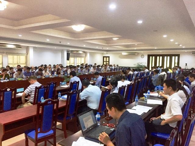 Hội nghị có sự góp mặt của Cục Công tác phía Nam – Bộ Xây dựng, đại diện UBND thành phố và các quận, huyện.