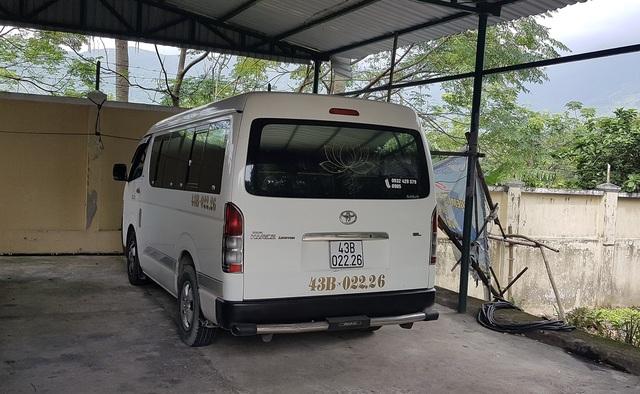 Nam tài xế điều khiển ô tô chạy sai làn đường phía nam hầm Hải Vân được phát hiện là đã trộm xe này
