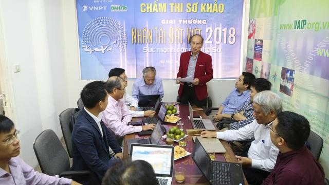 Hội đồng chấm thi sơ khảo giải thưởng Nhân tài Đất Việt 2018 trong lĩnh vực CNTT