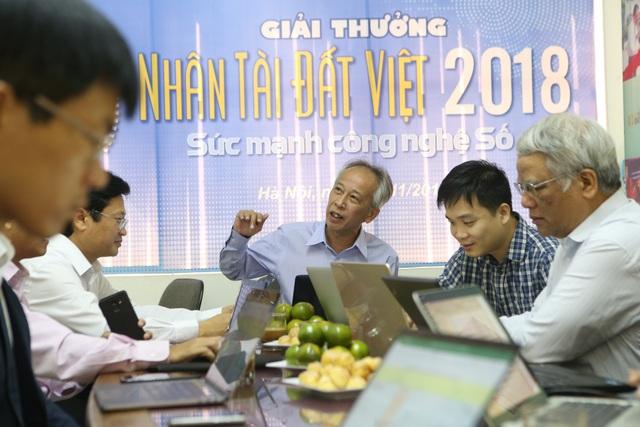 Những vị giám khảo công tâm, khách quan sẽ giúp Ban tổ chức Giải thưởng tìm ra những sản phẩm tốt nhất vào vòng chung khảo Nhân tài Đất Việt 2018.