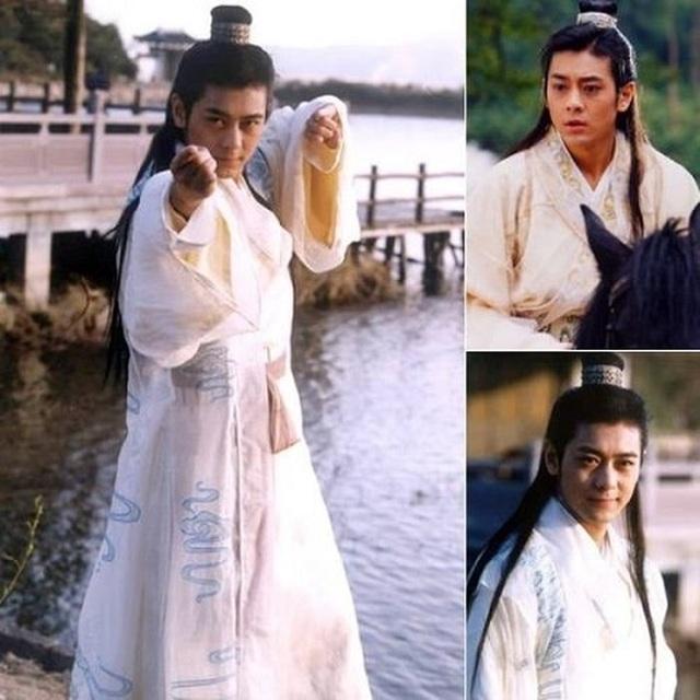 Diễn viên Lâm Chí Dĩnh đã hóa thân rất đạt thành Đoàn Dự trong Thiên long bát bộ