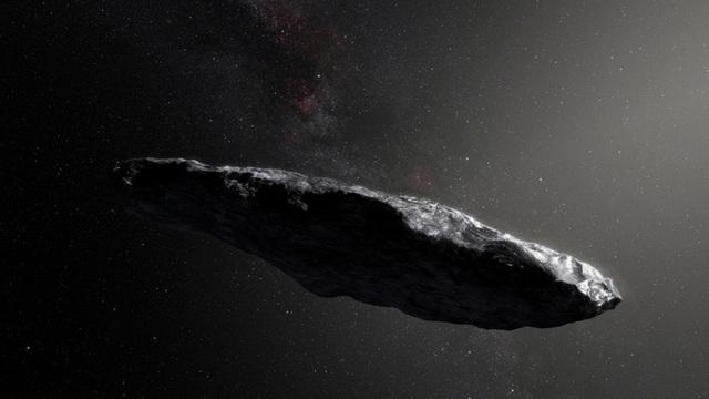 Cách di chuyển của tiểu hành tinh bí ẩn Oumuamua khiến các nhà thiên văn học nghi rằng đây là phi thuyền do thám của người ngoài hành tinh.