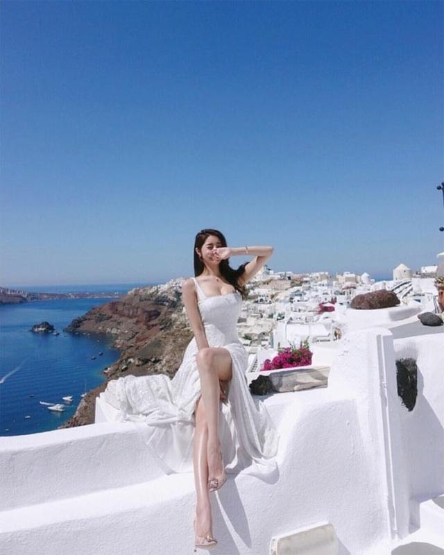 Vivi cũng rất đầu tư cho các bộ hình đăng tại trên blog sống và du lịch của mình.