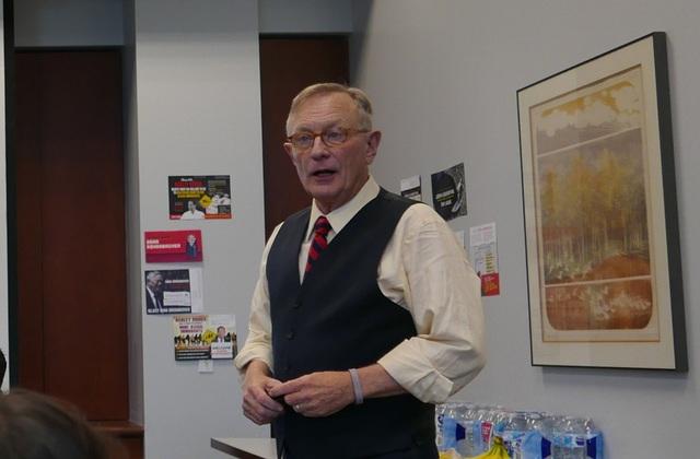 Shawn Steel - đại diện của Ủy ban Quốc gia đảng Cộng hòa tại Calfifornia (Ảnh: An Bình)