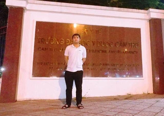 Trần Đại Hiển hiện là sinh viên năm thứ nhất, chuyên ngành Y đa khoa Trường Đại học Y dược Cần Thơ.