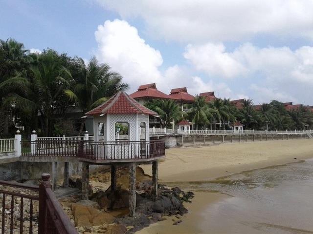 Khu biệt thự ven biển Quy Nhơn.