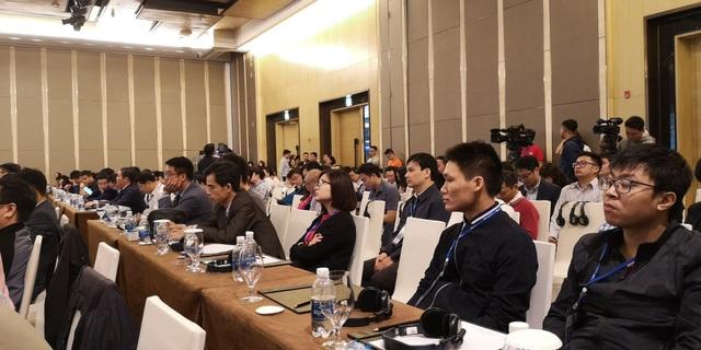 Đại biểu tham dự Hội thảo Ngày An toàn thông tin Việt Nam 2018.