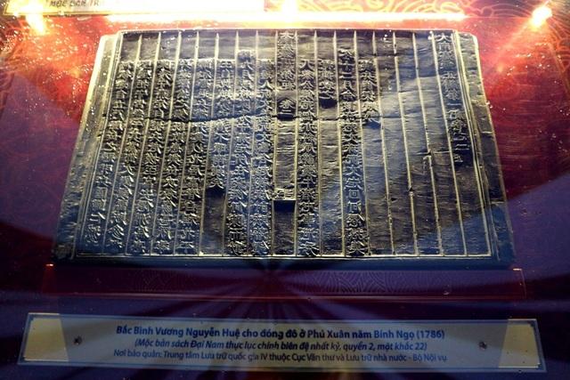 Bắc Bình Vương Nguyễn Huệ cho đóng đô ở Phú Xuân năm Bính Ngọ (1786)