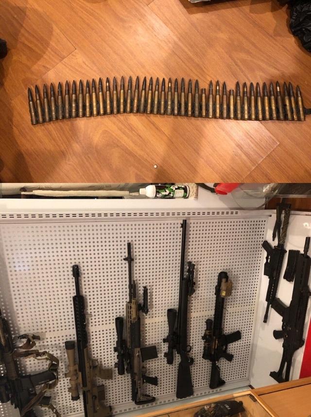 Số vũ khí cơ quan công an phát hiện tại nhà Tuấn