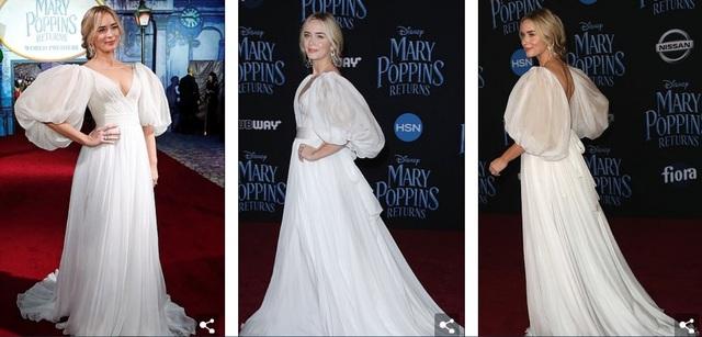 Sao phim Yêu nữ thích hàng hiệu đẹp như mộng trong bộ váy trắng