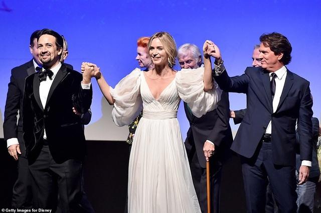 Emily Blunt là niềm tự hào của điện ảnh Anh quốc.
