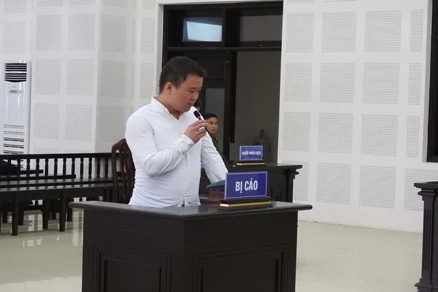 Bị cáo Bai XinXing tại phiên tòa