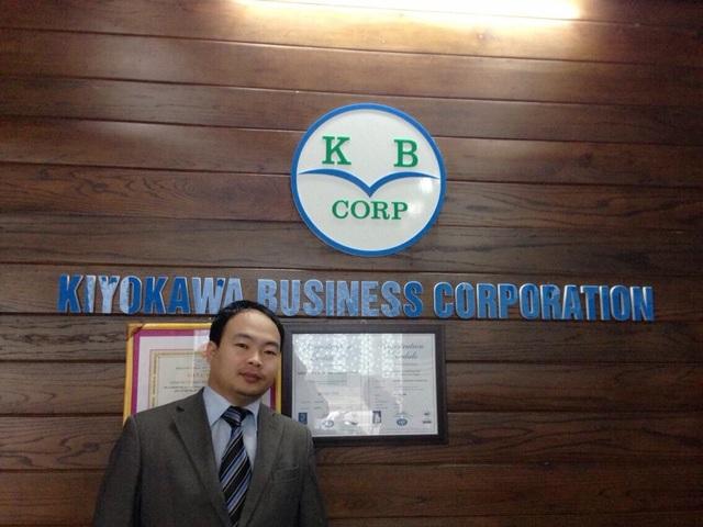 Ông Đỗ Như Nhuận, Giám đốc Công ty cổ phần kinh doanh Kiyokawa