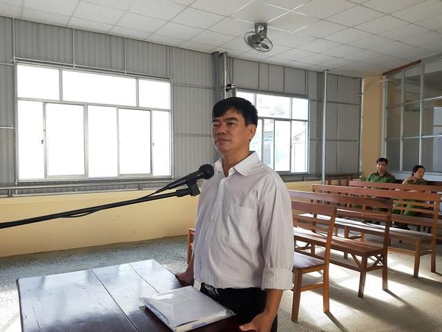 Bị cáo Trần Tuấn Kiệt