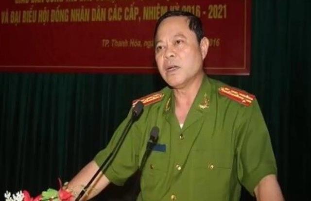 Đại tá Nguyễn Chí Phương, Trưởng công an thành phố Thanh Hóa.
