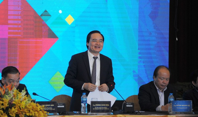 Bộ trưởng Bộ Giáo dục & Đào tạo Phùng Xuân Nhạ
