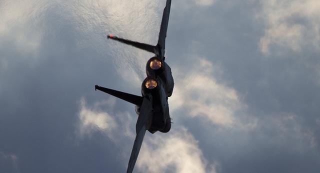 Một máy bay F-15 của Israel (Ảnh: Sputnik)