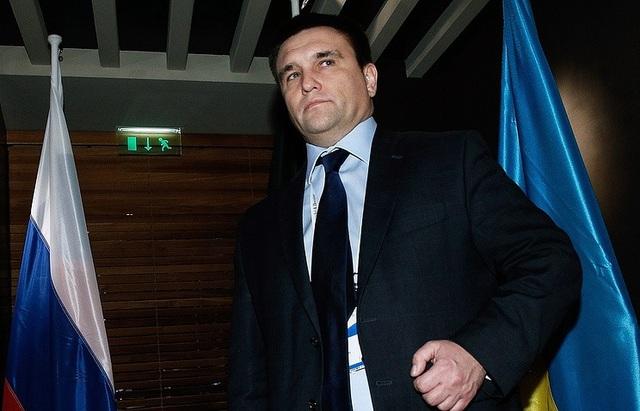 Ngoại trưởng Ukraine Pavel Klimkin (Ảnh: TASS)